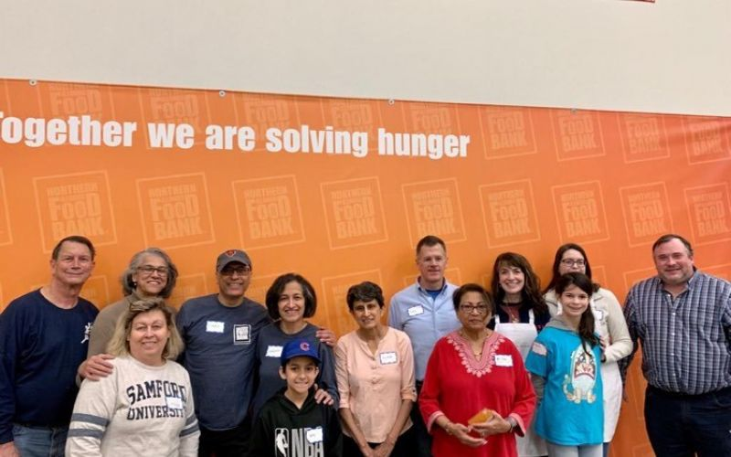 April 17, Volunteer at the Northern Illinois Food Bank
